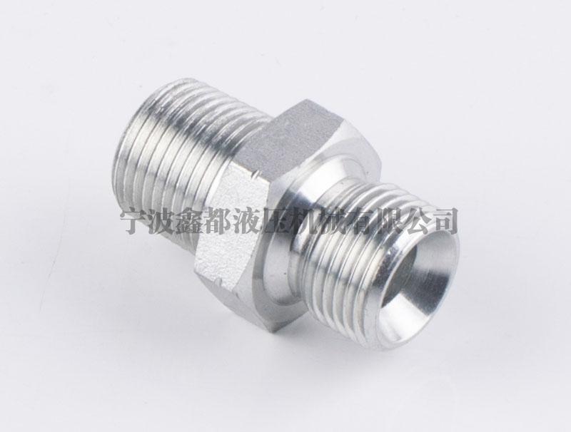 1BN英管外螺纹60°内锥或六角端面用组合垫密封 /美制布锥管外螺纹