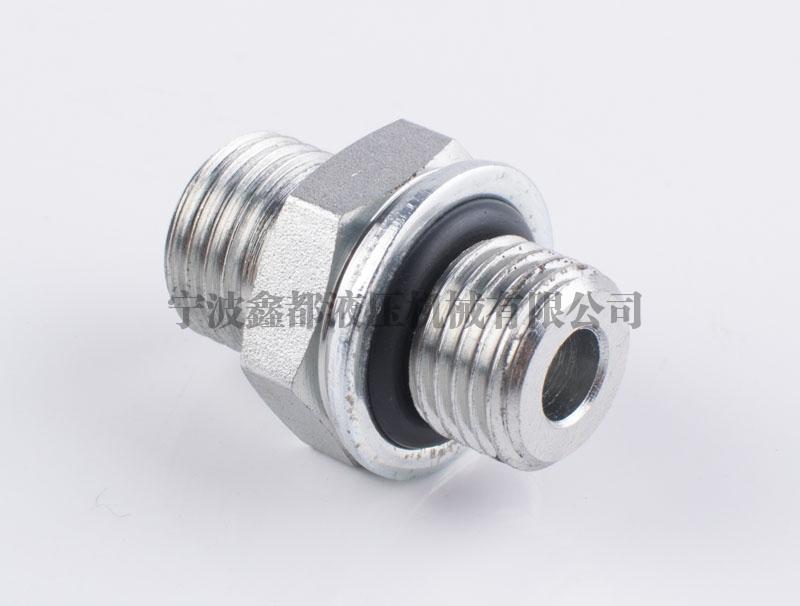 1EH公制外螺纹 O形圈平面密封 /公制外螺纹 ISO 6149-2