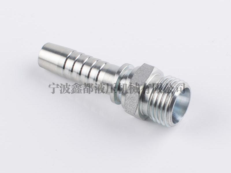 10511公制外螺纹 24° 内锥面重系列DIN3853液压胶管接头