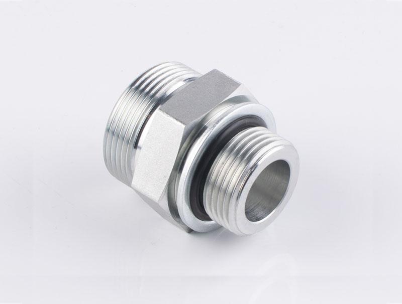 1FH 美制 ORFS 外螺纹O形圈平面密封 /公制外螺纹可调向柱端重系列ISO 6149-2